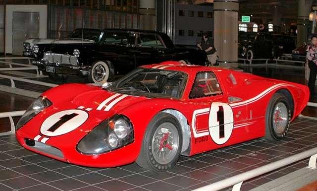 Winner at 1967 LeMans, Ford GT40 Mark IV